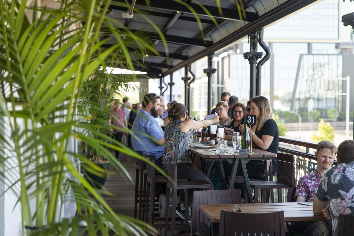 The Royal Hotel Perth verandah outdoor dining